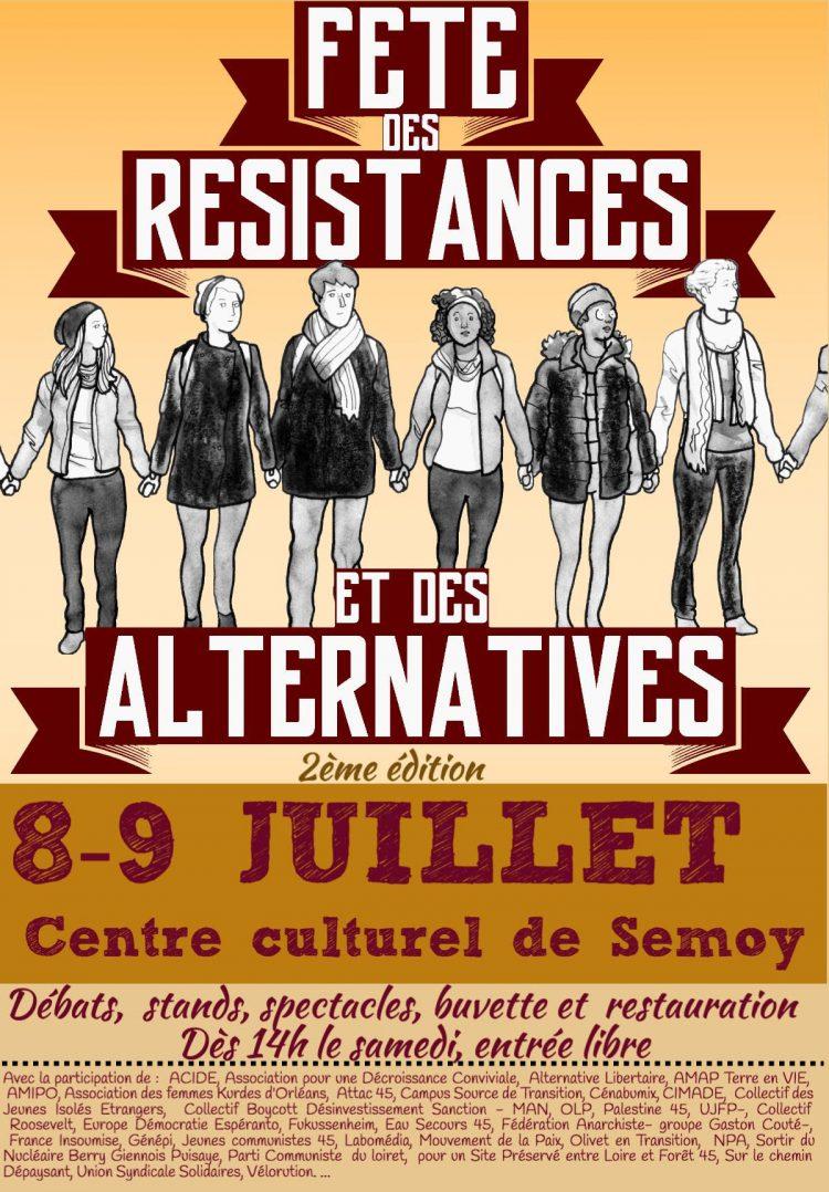 Fête des Résistances et des Alternatives 2017