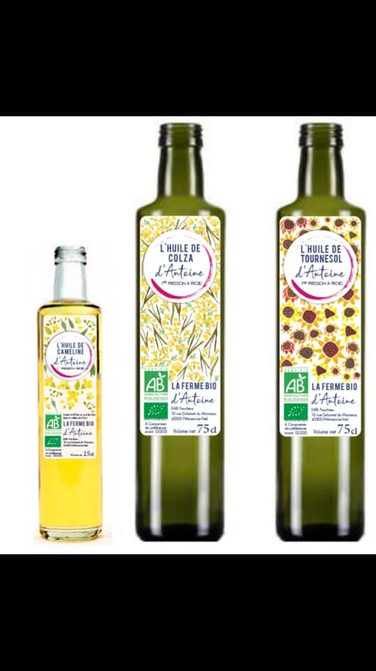 Les huiles d'Antoine Faucheux
