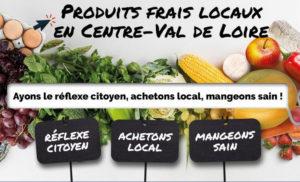 Produits frais et locaux en Région Centre - Val de Loire